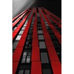 Red Building City 5.5  x 8.5  Notebooks Front Cover Inside