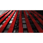 Red Building City Magic Photo Cubes Long Side 1
