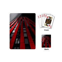 Red Building City Playing Cards (Mini)