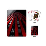 Red Building City Playing Cards (Mini)  Back