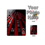 Red Building City Playing Cards 54 (Mini)  Front - Spade10