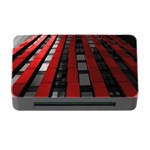 Red Building City Memory Card Reader with CF Front