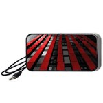 Red Building City Portable Speaker (Black)  Front