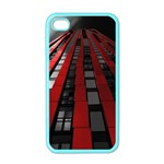 Red Building City Apple iPhone 4 Case (Color) Front