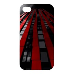 Red Building City Apple iPhone 4/4S Hardshell Case