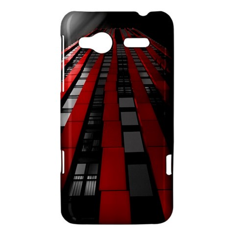 Red Building City HTC Radar Hardshell Case
