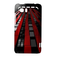 Red Building City HTC Vivid / Raider 4G Hardshell Case