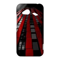 Red Building City HTC Droid Incredible 4G LTE Hardshell Case
