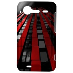 Red Building City HTC Incredible S Hardshell Case