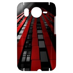 Red Building City HTC Desire HD Hardshell Case