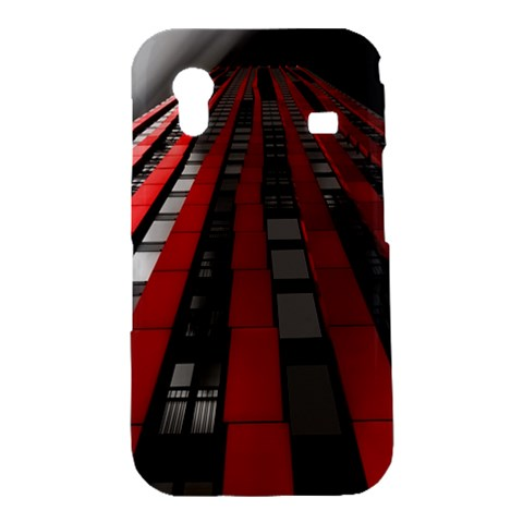 Red Building City Samsung Galaxy Ace S5830 Hardshell Case