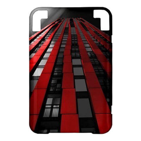 Red Building City Kindle 3 Keyboard 3G