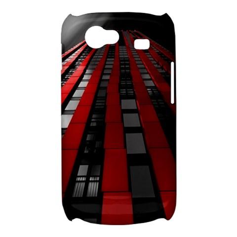 Red Building City Samsung Galaxy Nexus S i9020 Hardshell Case