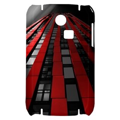 Red Building City Samsung S3350 Hardshell Case