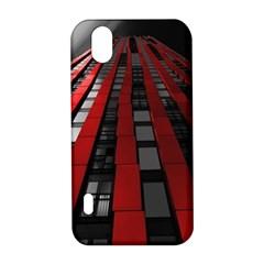 Red Building City LG Optimus P970