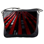 Red Building City Messenger Bags Front