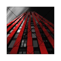 Red Building City Acrylic Tangram Puzzle (6  x 6 )