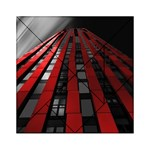 Red Building City Acrylic Tangram Puzzle (6  x 6 ) Front
