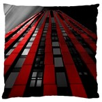 Red Building City Large Cushion Case (Two Sides) Front