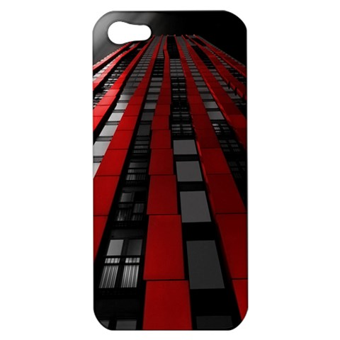 Red Building City Apple iPhone 5 Hardshell Case