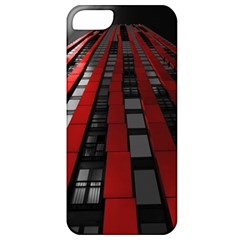 Red Building City Apple iPhone 5 Classic Hardshell Case