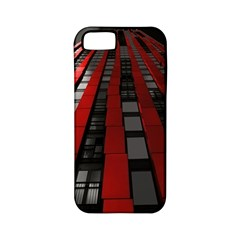 Red Building City Apple iPhone 5 Classic Hardshell Case (PC+Silicone)