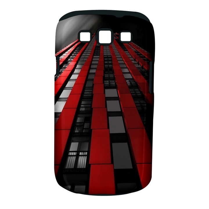 Red Building City Samsung Galaxy S III Classic Hardshell Case (PC+Silicone)