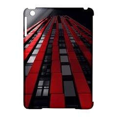 Red Building City Apple iPad Mini Hardshell Case (Compatible with Smart Cover)