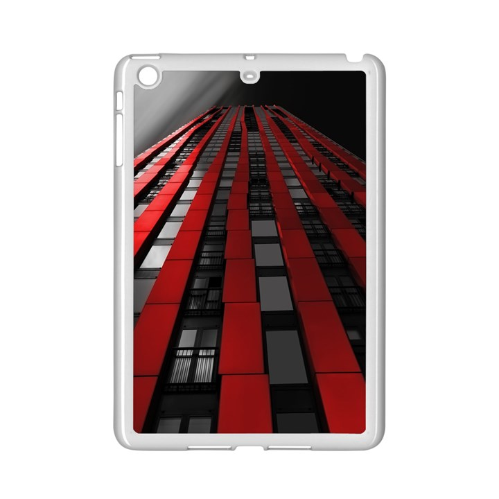 Red Building City iPad Mini 2 Enamel Coated Cases