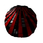 Red Building City Standard 15  Premium Round Cushions Back
