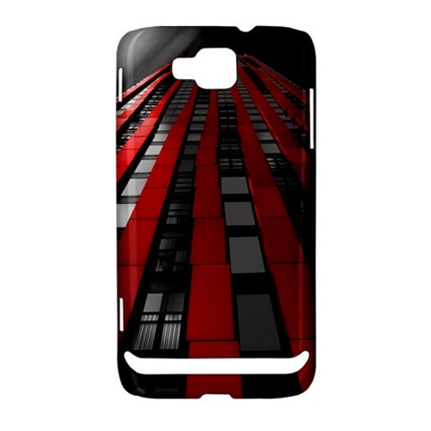 Red Building City Samsung Ativ S i8750 Hardshell Case