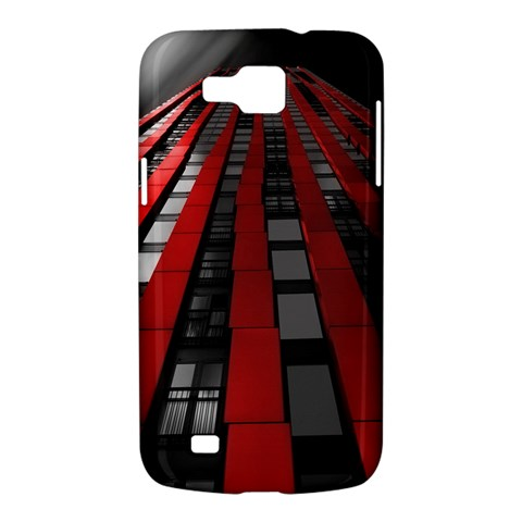 Red Building City Samsung Galaxy Premier I9260 Hardshell Case