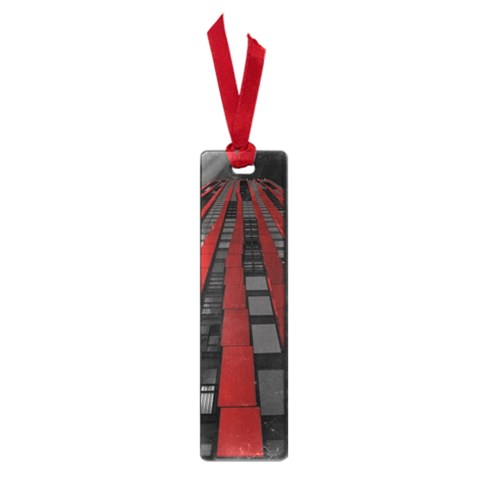 Red Building City Small Book Marks