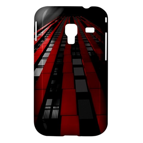 Red Building City Samsung Galaxy Ace Plus S7500 Hardshell Case