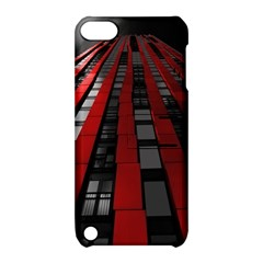 Red Building City Apple iPod Touch 5 Hardshell Case with Stand