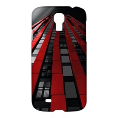 Red Building City Samsung Galaxy S4 I9500/I9505 Hardshell Case