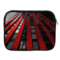 Red Building City Apple iPad 2/3/4 Zipper Cases
