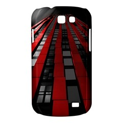Red Building City Samsung Galaxy Express I8730 Hardshell Case