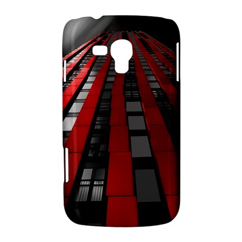 Red Building City Samsung Galaxy Duos I8262 Hardshell Case