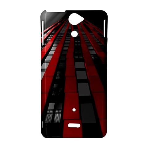 Red Building City Sony Xperia V