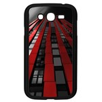 Red Building City Samsung Galaxy Grand DUOS I9082 Case (Black) Front