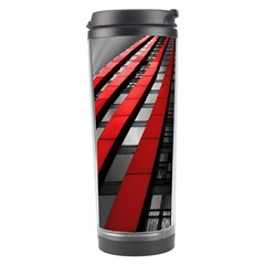 Red Building City Travel Tumbler