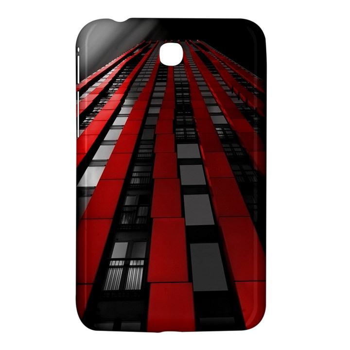 Red Building City Samsung Galaxy Tab 3 (7 ) P3200 Hardshell Case