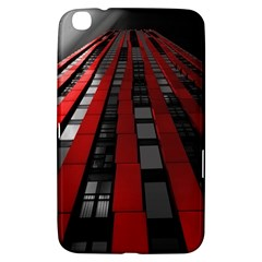 Red Building City Samsung Galaxy Tab 3 (8 ) T3100 Hardshell Case