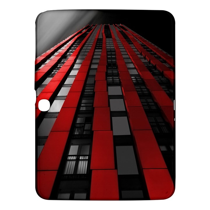 Red Building City Samsung Galaxy Tab 3 (10.1 ) P5200 Hardshell Case