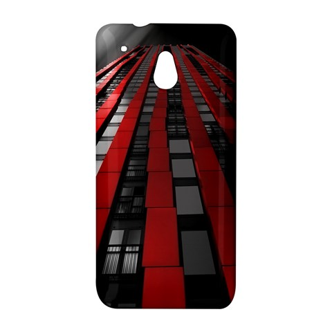 Red Building City HTC One Mini (601e) M4 Hardshell Case