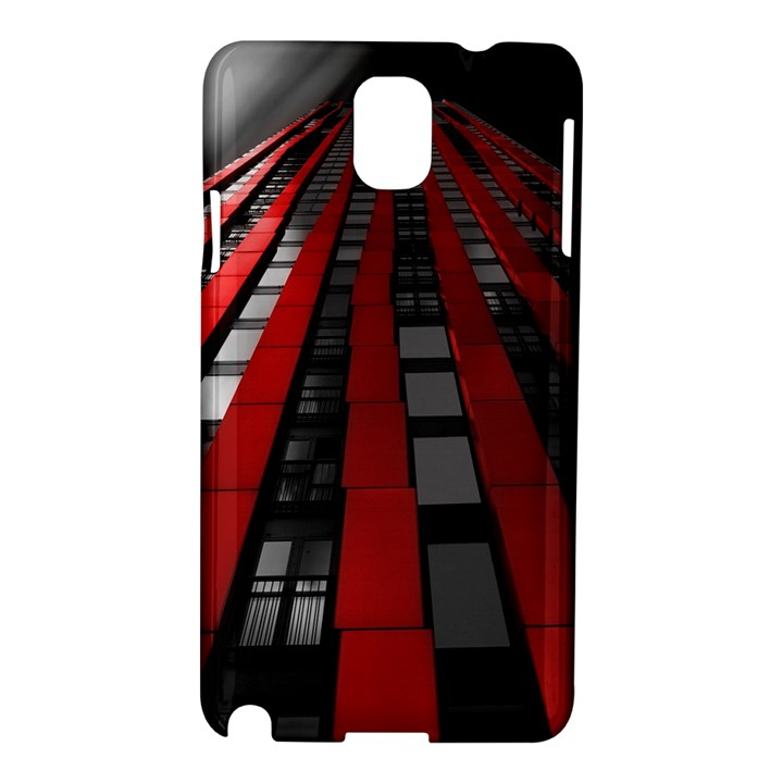 Red Building City Samsung Galaxy Note 3 N9005 Hardshell Case
