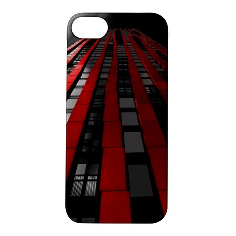 Red Building City Apple iPhone 5S/ SE Hardshell Case