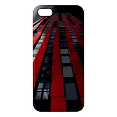 Red Building City iPhone 5S/ SE Premium Hardshell Case