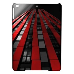 Red Building City iPad Air Hardshell Cases